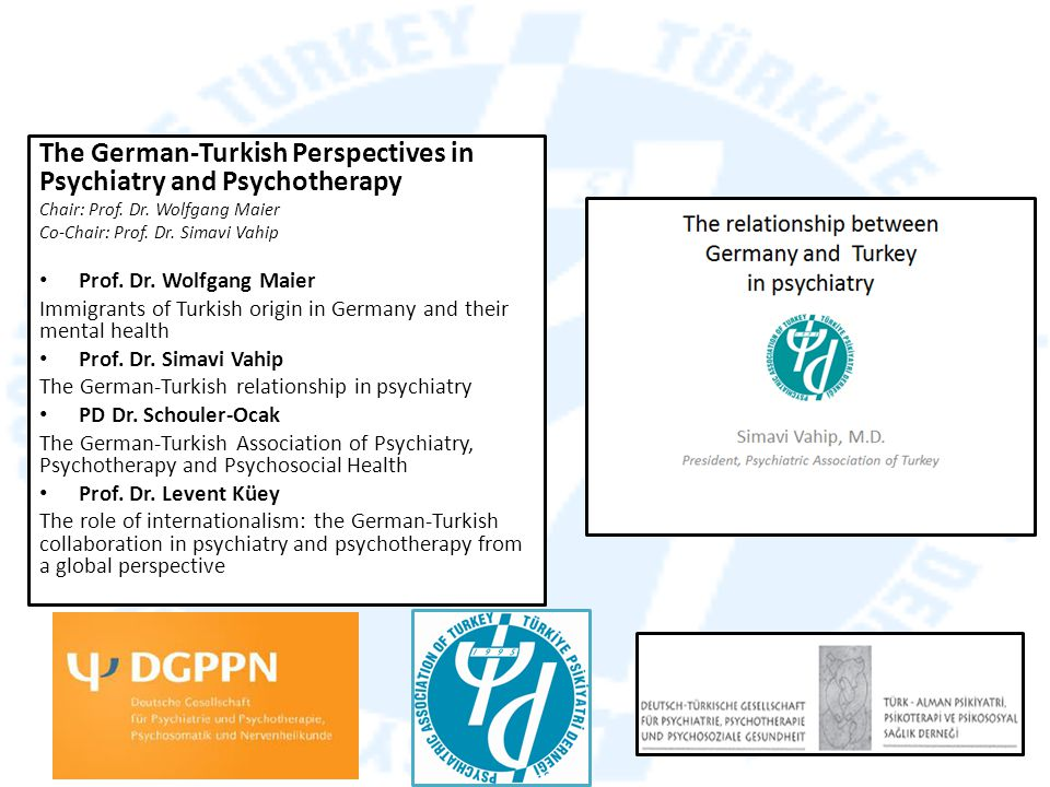 The German-Turkish Perspectives in Psychiatry and Psychotherapy
