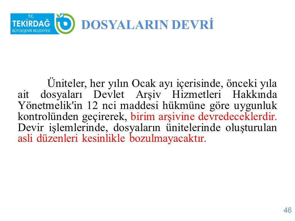 DOSYALARIN DEVRİ
