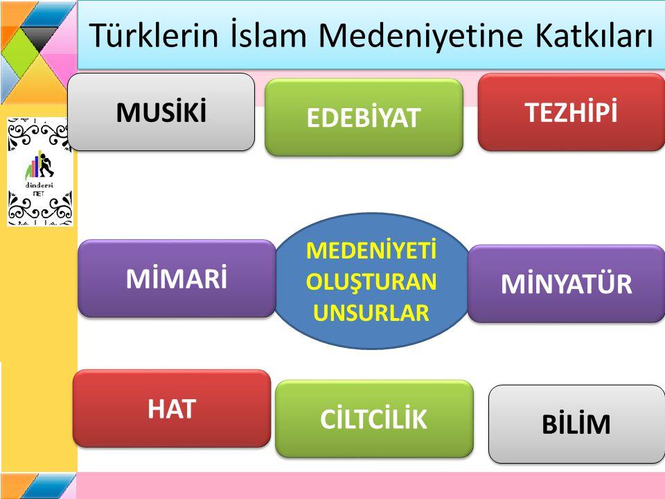 Türklerin İslam Medeniyetine Katkıları