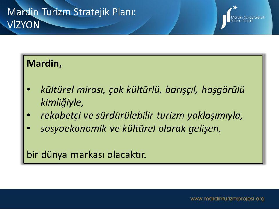 Mardin Turizm Stratejik Planı: VİZYON