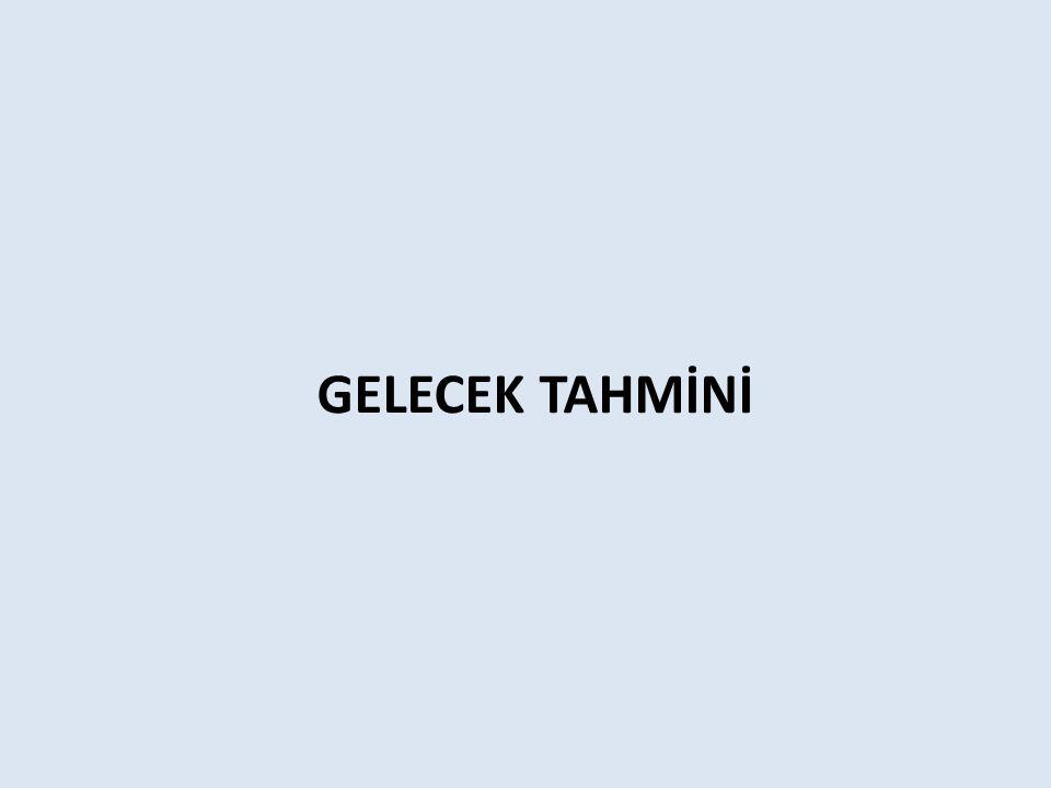 GELECEK TAHMİNİ