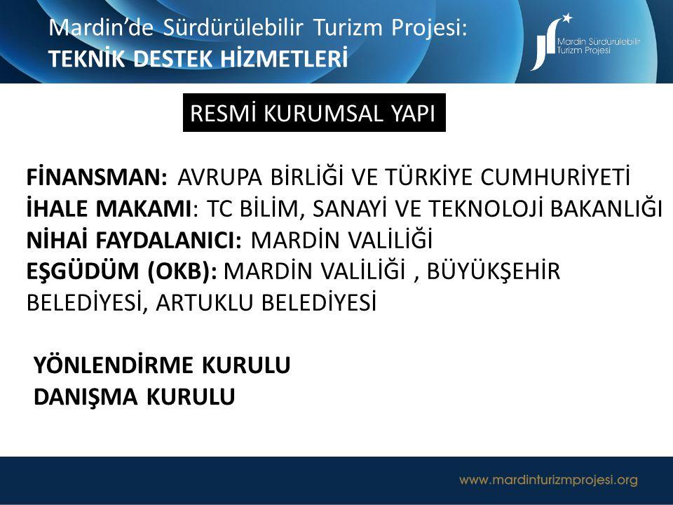 Mardin'de Sürdürülebilir Turizm Projesi: