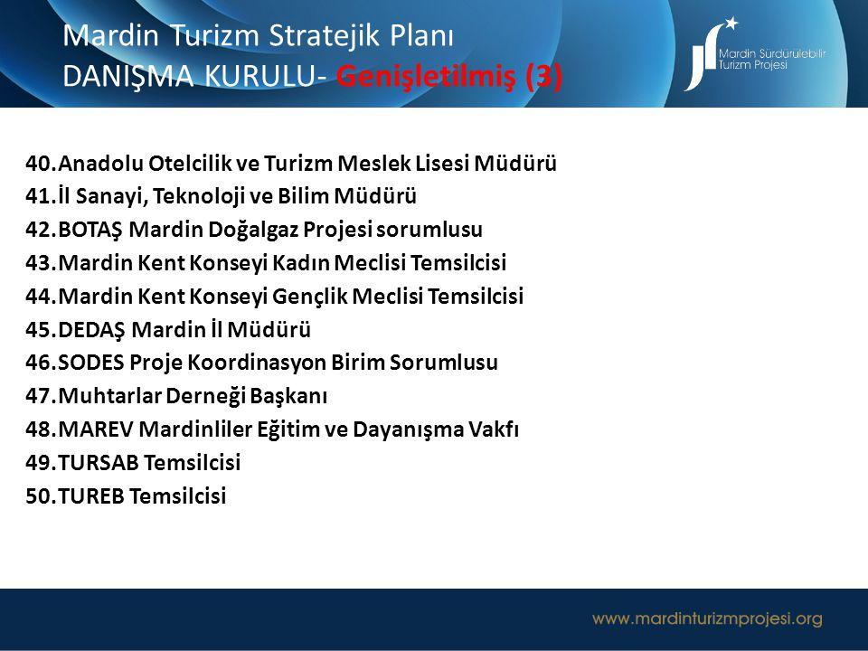 Mardin Turizm Stratejik Planı DANIŞMA KURULU- Genişletilmiş (3)