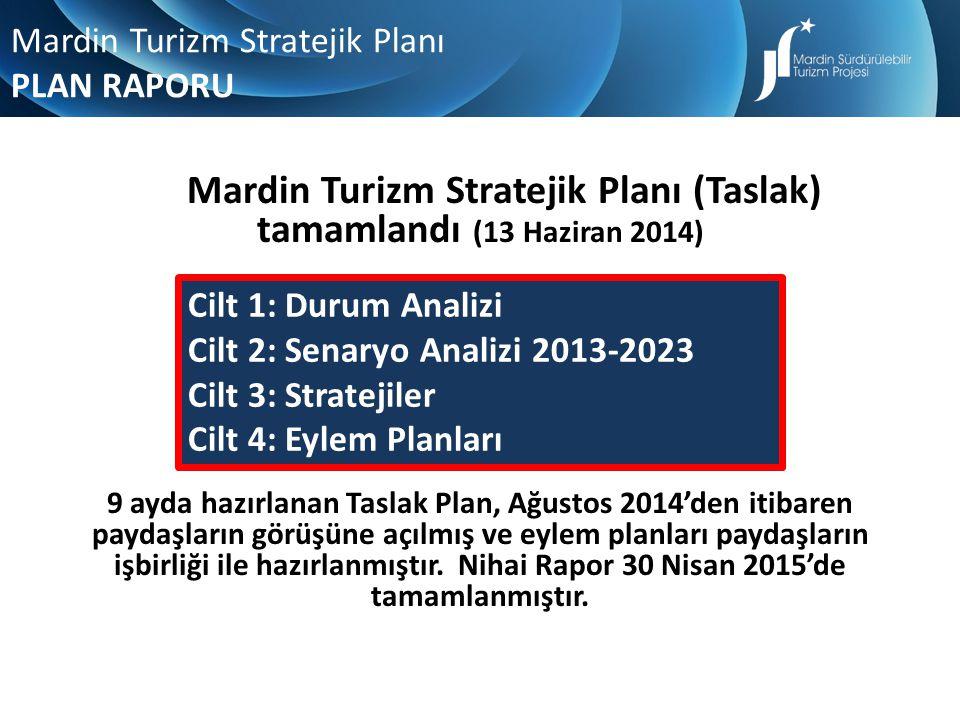 Mardin Turizm Stratejik Planı (Taslak) tamamlandı (13 Haziran 2014)