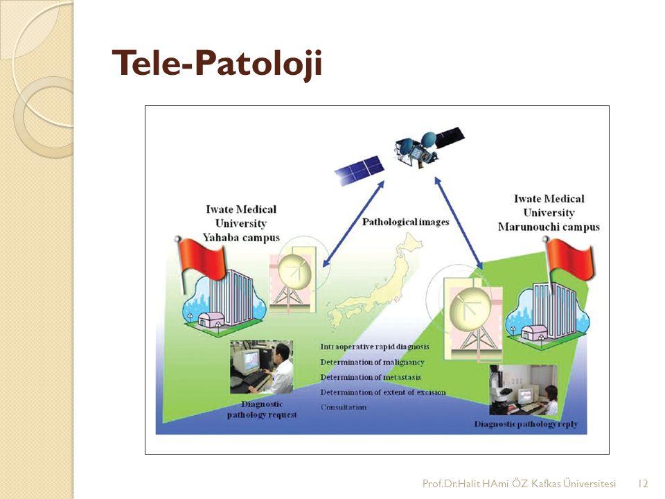 Tele-Patoloji Prof.Dr.Halit HAmi ÖZ Kafkas Üniversitesi