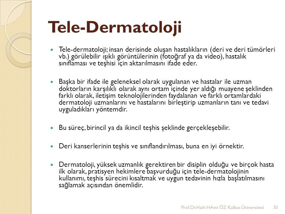 Tele-Dermatoloji