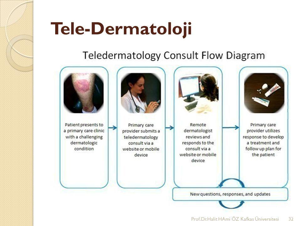 Tele-Dermatoloji Prof.Dr.Halit HAmi ÖZ Kafkas Üniversitesi