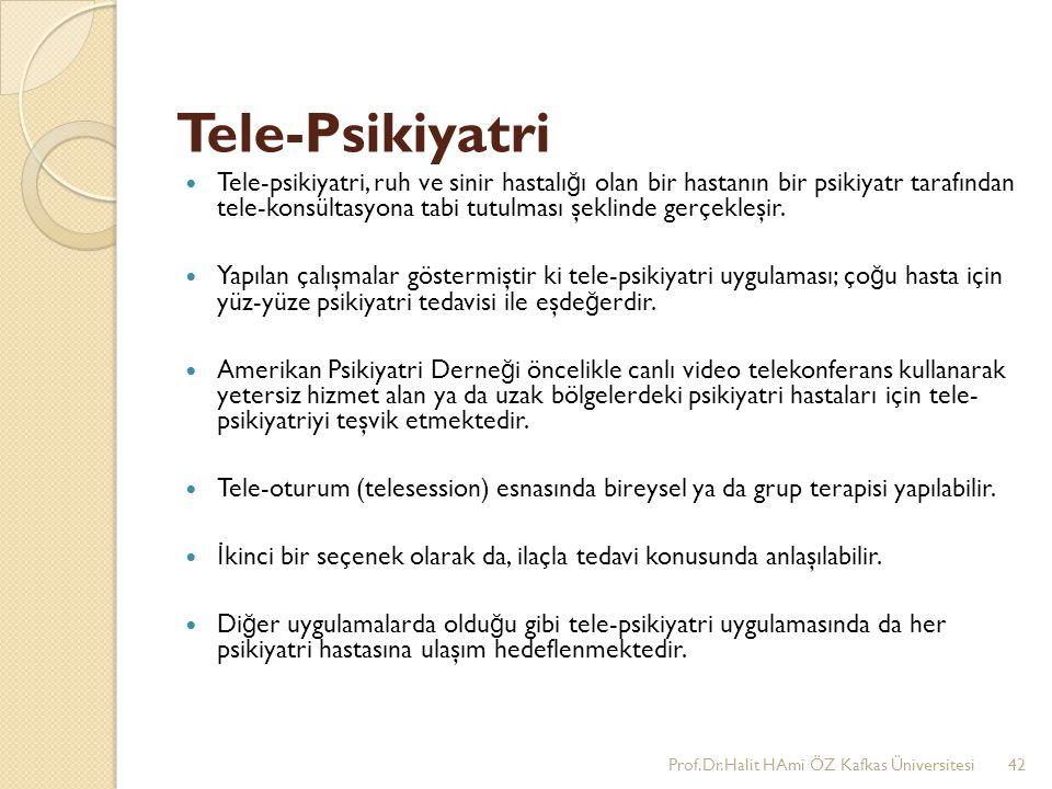 Tele-Psikiyatri