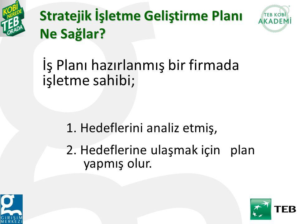 Stratejik İşletme Geliştirme Planı Ne Sağlar