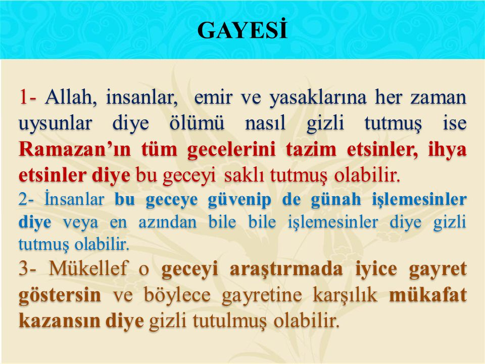 GAYESİ