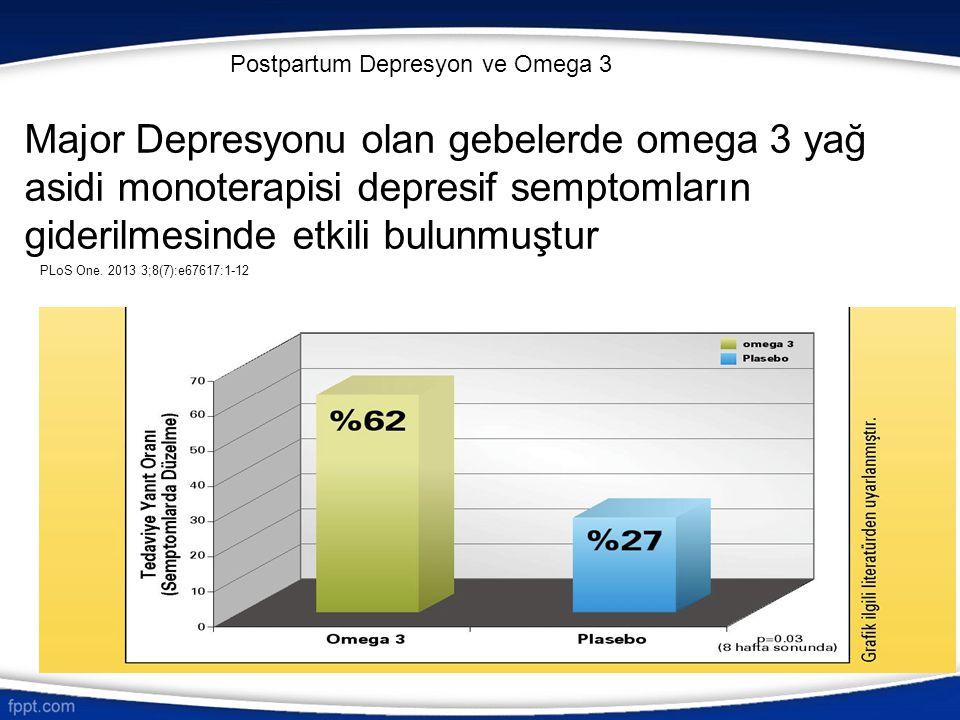 Postpartum Depresyon ve Omega 3