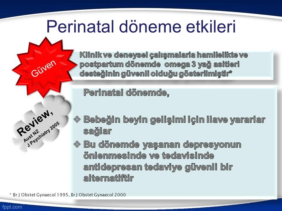 Perinatal döneme etkileri