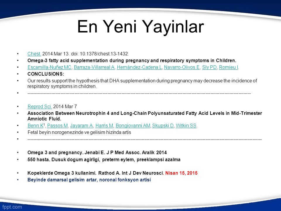 En Yeni Yayinlar Chest. 2014 Mar 13. doi: 10.1378/chest.13-1432.