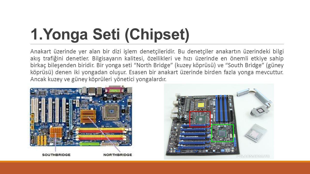 1.Yonga Seti (Chipset)