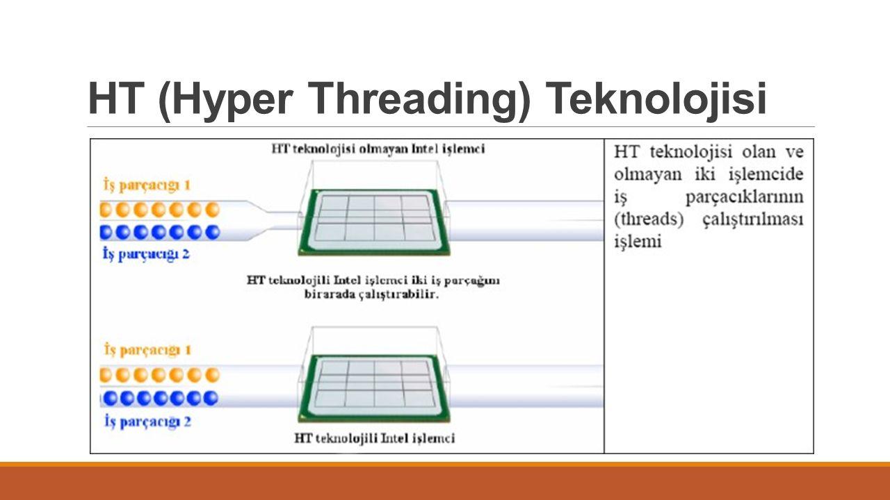 HT (Hyper Threading) Teknolojisi