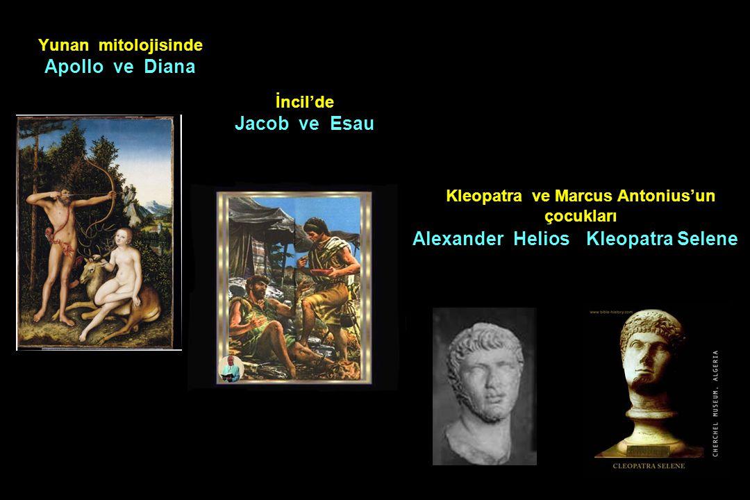 Kleopatra ve Marcus Antonius'un