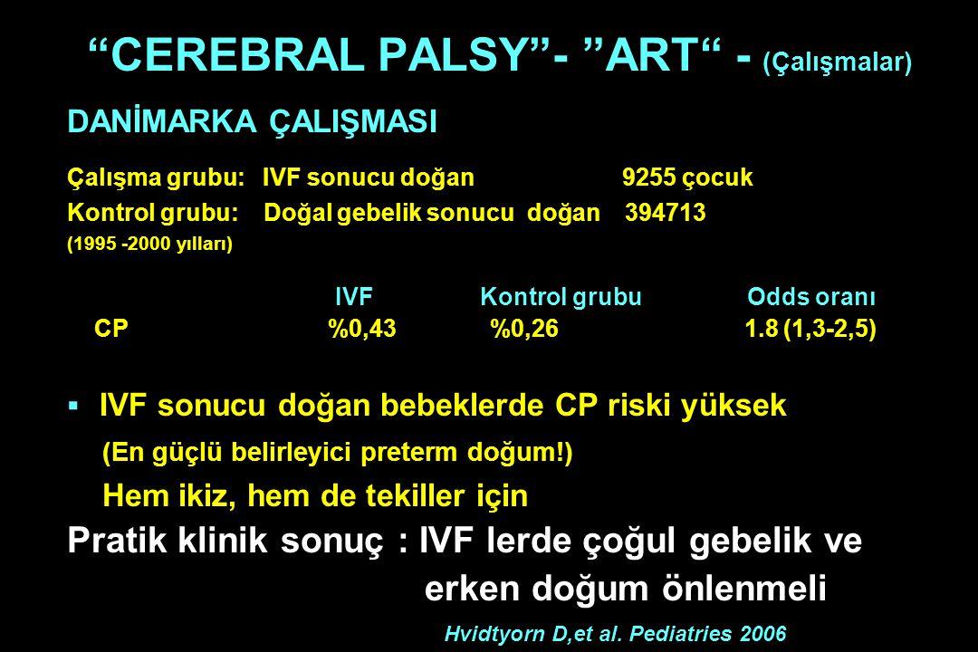 CEREBRAL PALSY - ART - (Çalışmalar)
