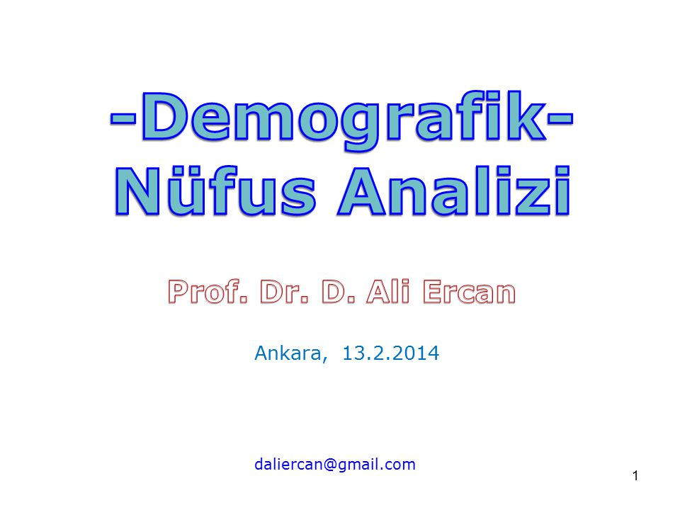 -Demografik- Nüfus Analizi