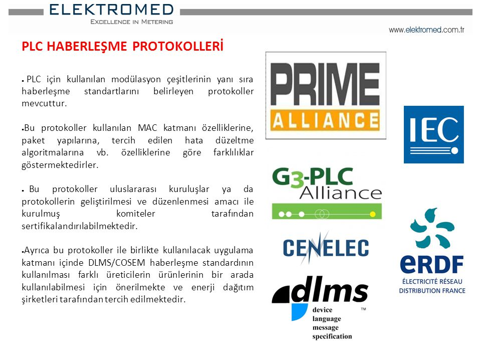 PLC HABERLEŞME PROTOKOLLERİ