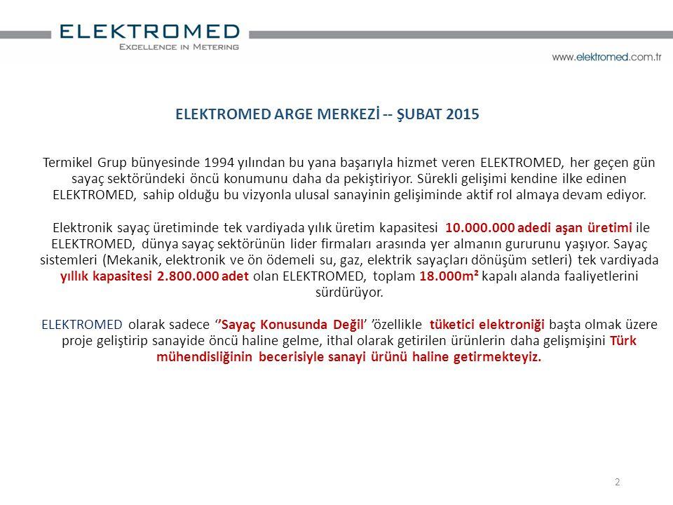 ELEKTROMED ARGE MERKEZİ -- ŞUBAT 2015