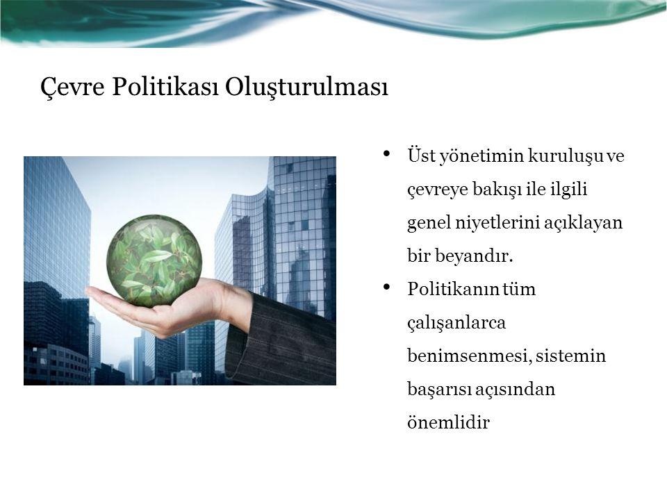 Çevre Politikası Oluşturulması