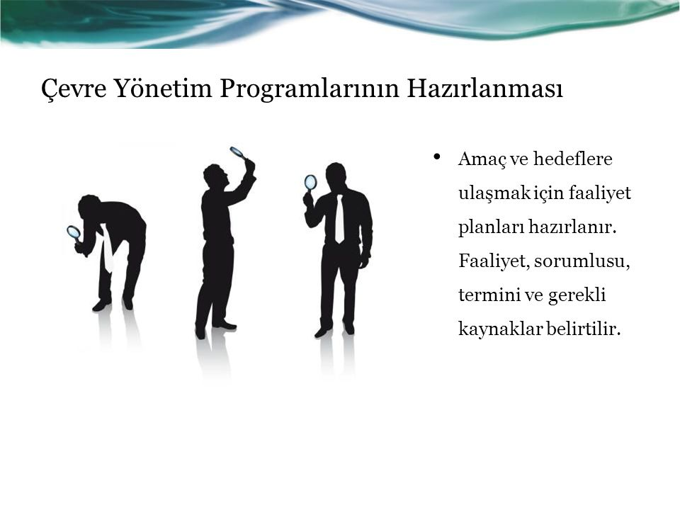 Çevre Yönetim Programlarının Hazırlanması