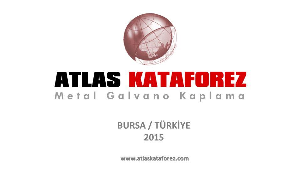 BURSA / TÜRKİYE 2015 www.atlaskataforez.com