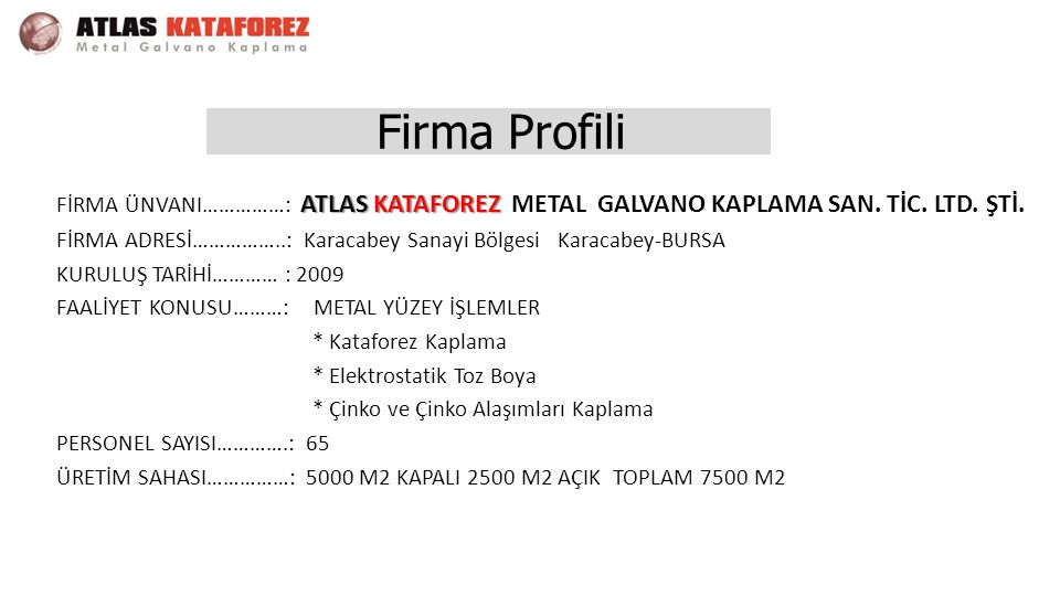 Firma Profili