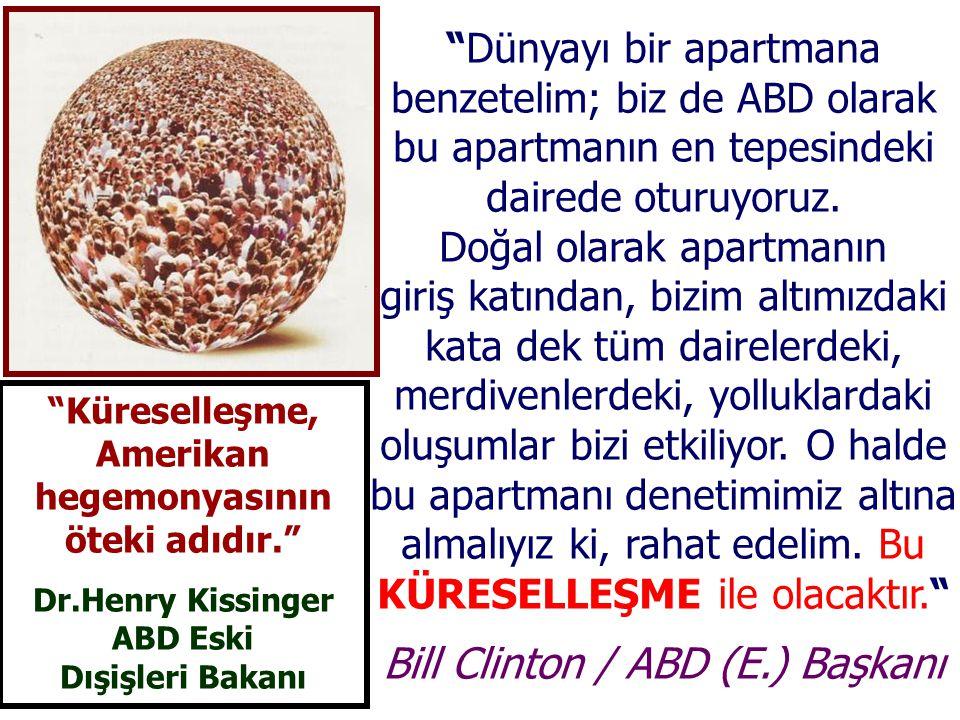 Bill Clinton / ABD (E.) Başkanı