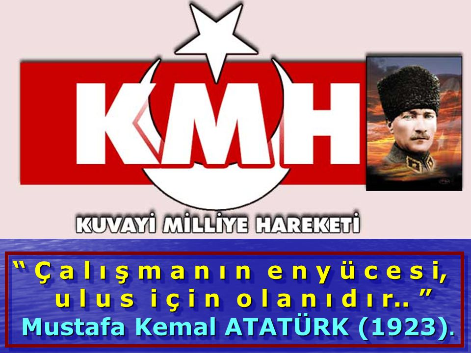 Mustafa Kemal ATATÜRK (1923).