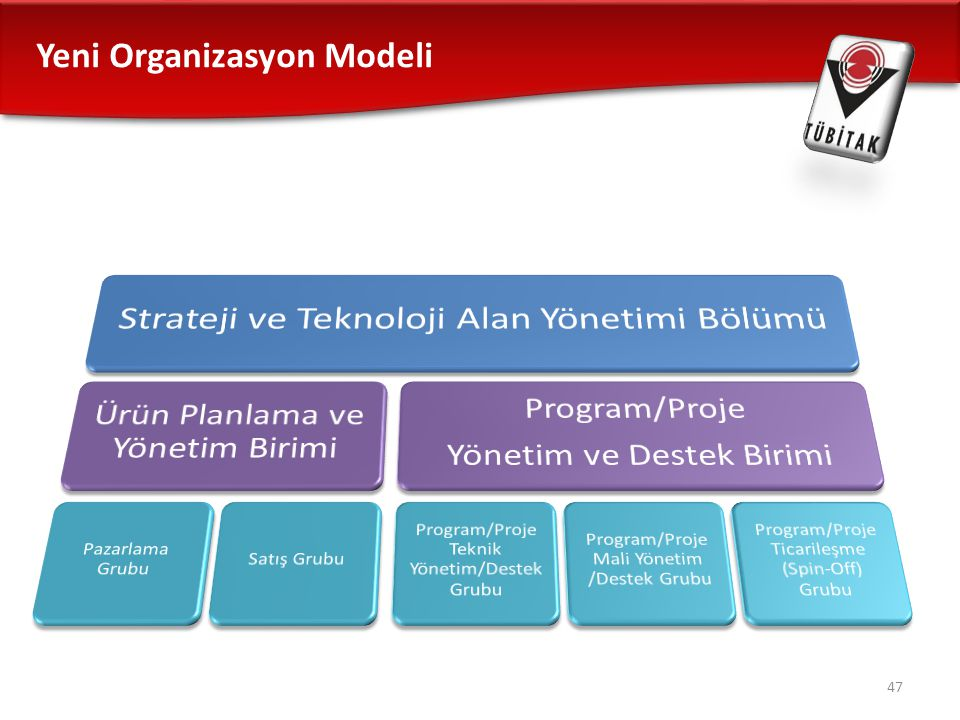 Strateji ve Teknoloji Alan Yönetimi Bölümü