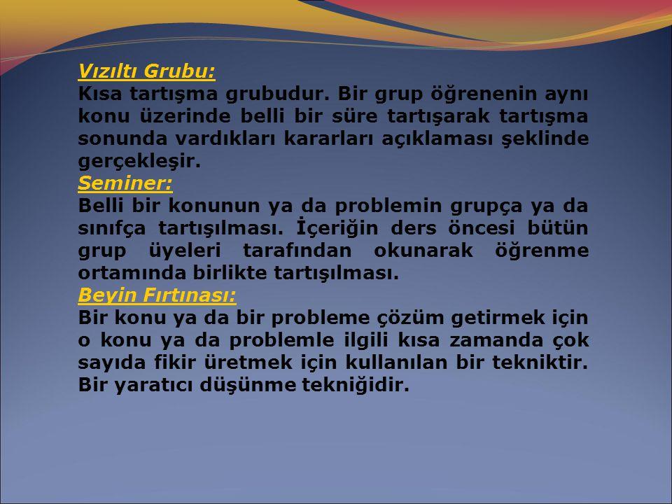 Vızıltı Grubu: