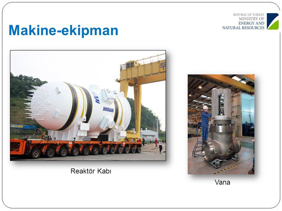 Makine-ekipman Reaktör Kabı Vana