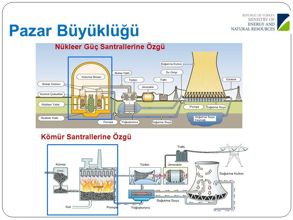 Pazar Büyüklüğü Nükleer Güç Santrallerine Özgü