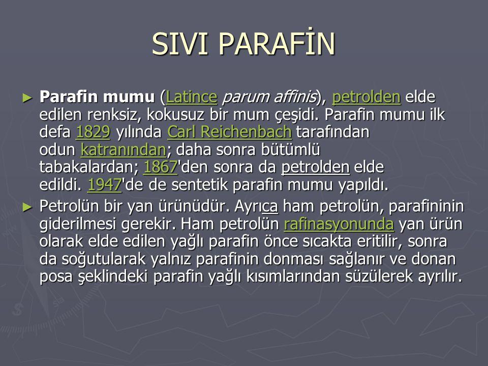 SIVI PARAFİN