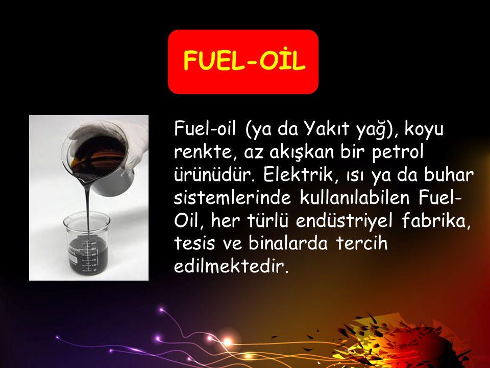FUEL-OİL