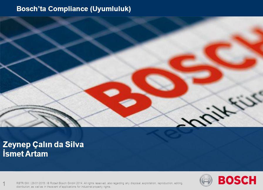 Zeynep Çalın da Silva İsmet Artam Bosch'ta Compliance (Uyumluluk)