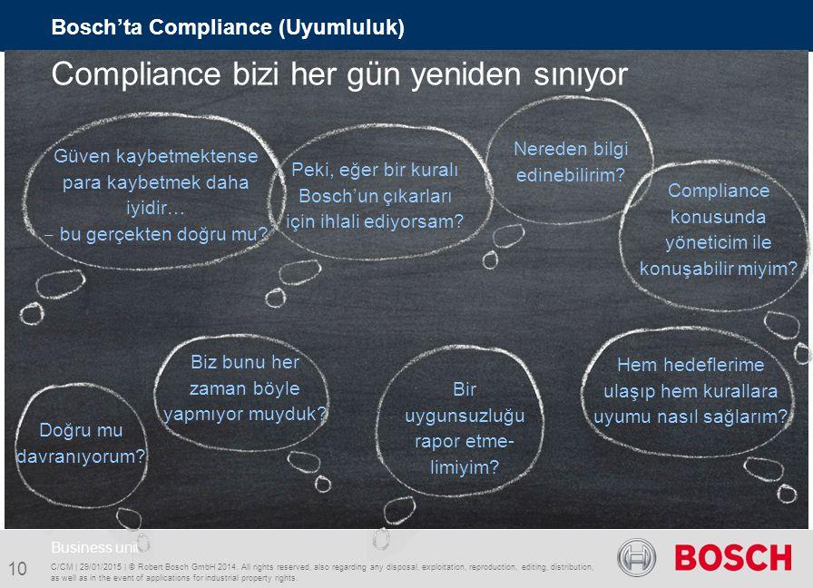 Compliance bizi her gün yeniden sınıyor