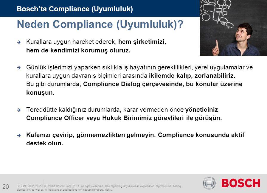 Neden Compliance (Uyumluluk)