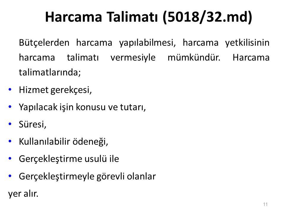 Harcama Talimatı (5018/32.md)