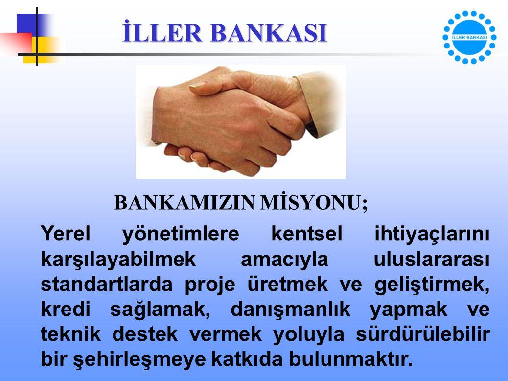 BANKAMIZIN MİSYONU;