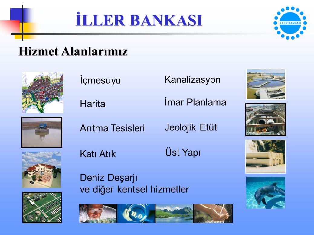 Hizmet Alanlarımız İçmesuyu Kanalizasyon İmar Planlama Harita