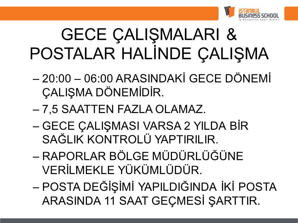 GECE ÇALIŞMALARI & POSTALAR HALİNDE ÇALIŞMA