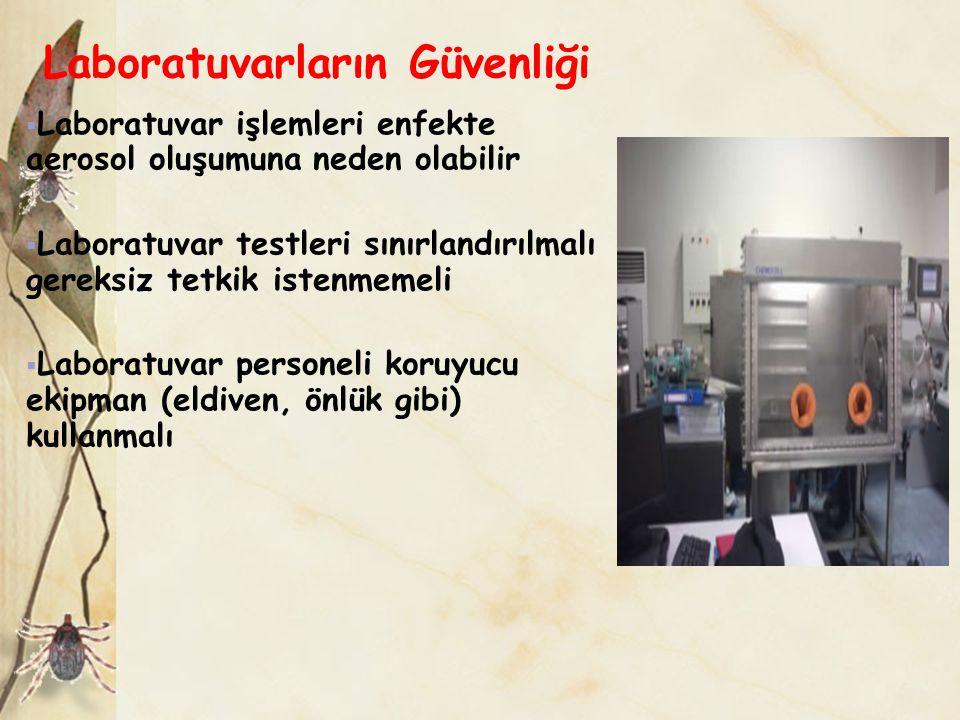 Laboratuvarların Güvenliği