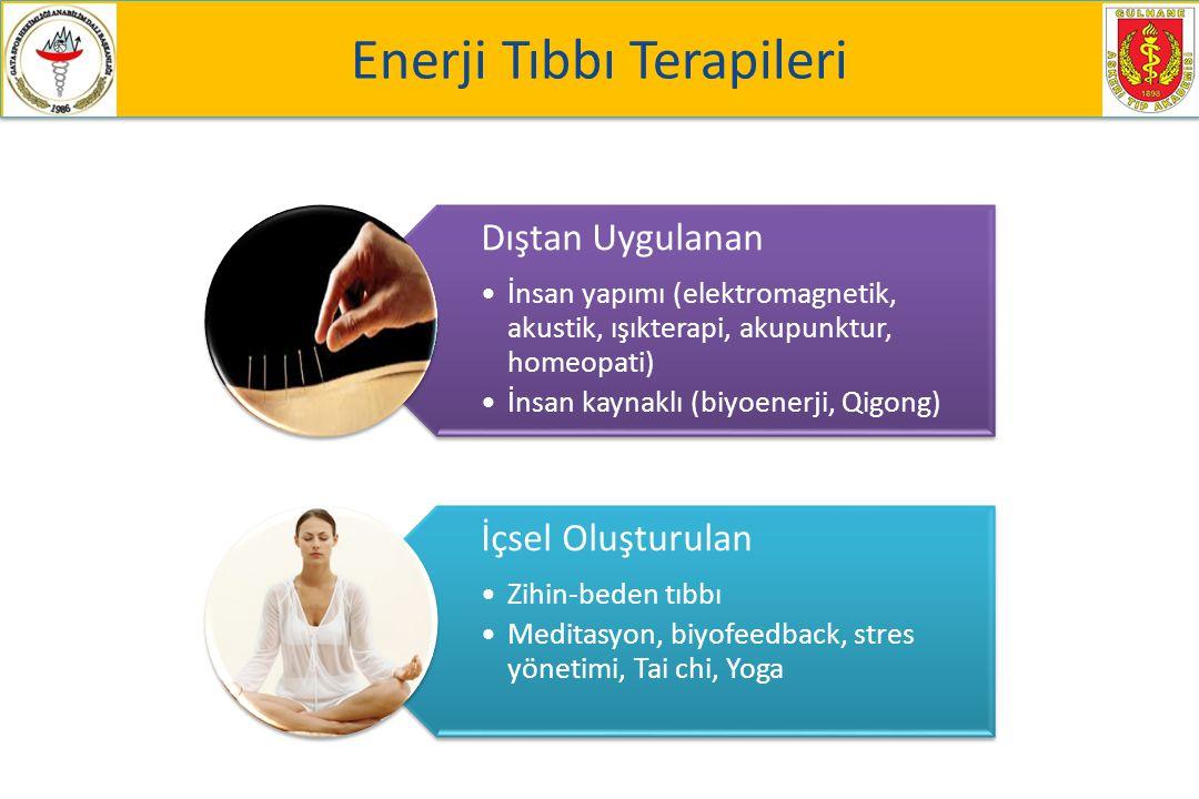 Enerji Tıbbı Terapileri