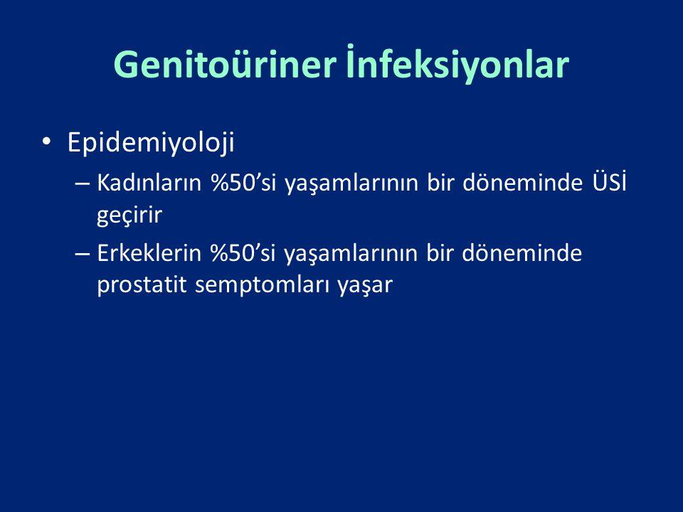 Genitoüriner İnfeksiyonlar