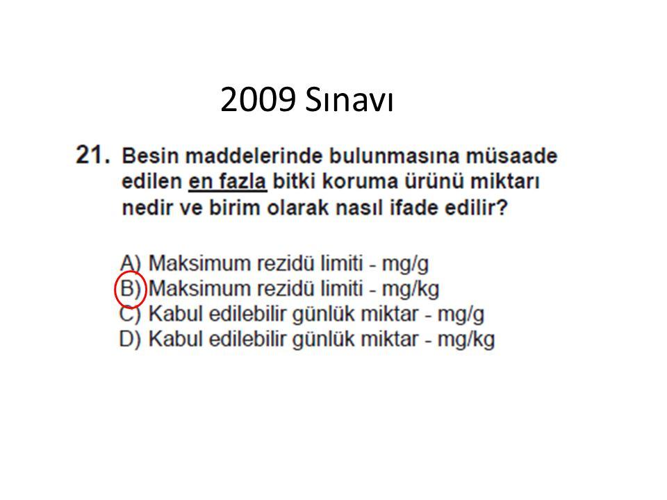 2009 Sınavı