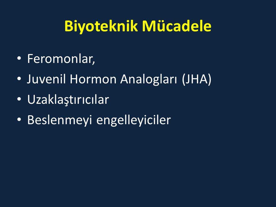 Biyoteknik Mücadele Feromonlar, Juvenil Hormon Analogları (JHA)