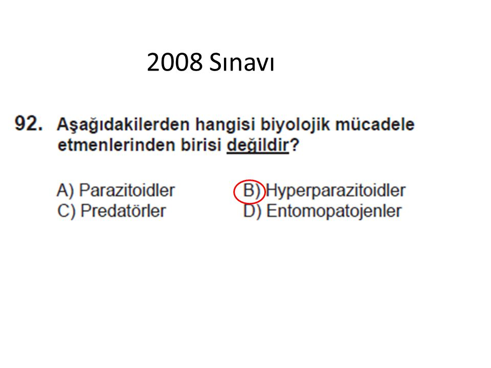 2008 Sınavı