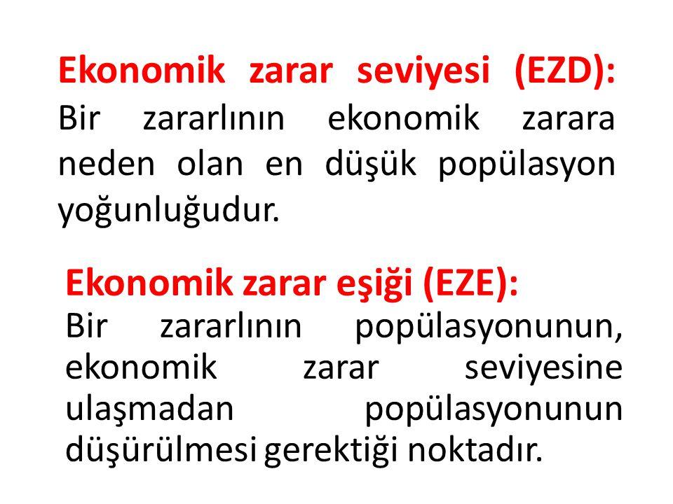 Ekonomik zarar eşiği (EZE):